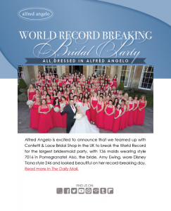 How large is your bridal party...