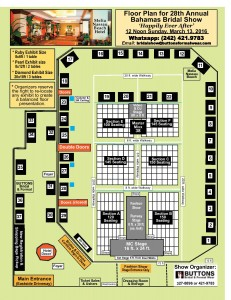 Bahamas Bridal Show Floor Plan 2016